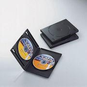 エレコム DVDトールケース CCD-DVD04BK