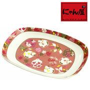 「にゃん屋」★鈴猫パン皿