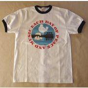 WOODSTOCK/ウッドストック プリントTシャツ 今年注目のリンガー ヘビーウェイトTシャツ