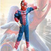 ハロウィン衣装  子供用  スパイダーマン 仮装  筋肉タイプ ハロウィーン コスプレ