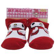 【ベビー】マイメロディ 新生児 はじめての靴下
