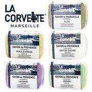La Corvette マルセイユ石鹸 100g サボン・ド・マルセイユ/プロヴァンス SAVON DE MARSEILLE/PROVENCE