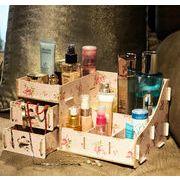 木製コスメティックボックス 化粧箱 収納ケース 木製ケース メイクボックス