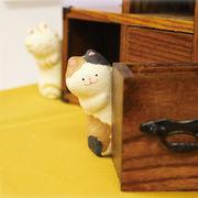 ちぎり和紙 のぞき猫