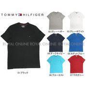 S) 【トミーヒルフィガー】 09T3139 半袖Tシャツ ベーシック コットン コア フラッグ 全7色 メンズ