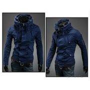 ミリタリージャケット ライダース ブルゾン アウター ジップアップ バイクウェア メンズファッション