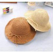 2017年新作★夏季新作 ★ビーチ用★子供用帽子★麦わら帽子★ニット帽子★