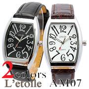 腕時計 メンズ L'etoile レトワール ビッグフェイス AM07