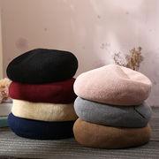 秋冬新品   レディース 帽子  ベレー帽  西洋風 可愛い 個性