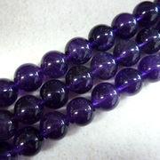 アメジスト10ミリ1連売り アメジスト 紫水晶 天然石 パワーストーン 浄化 健康