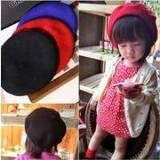 【自社工場】子供ハット 可愛い帽子 秋冬新しいスタイル ベレー帽