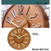 METRO ウッド ウォールクロック ・ GRANT グラント 掛け時計
