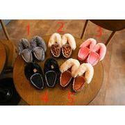 【ニュースタイル !!】秋冬新作★子供靴★綿入れの靴★暖かい★単靴★4色★26-30サイズ