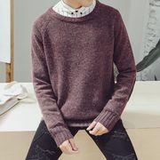 セーター♪グレー/ブラウン/ワインレッド3色展開◆【新作】