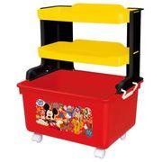 錦化成 おもちゃ箱 ミッキーマウス マルチキッズラック R-fun