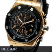 【八角形ベゼル】★グランド タペストリー 文字盤 メンズ腕時計 DD4【Bel Air collection】★