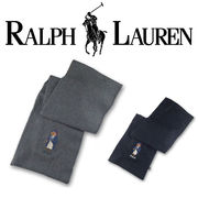 RALPH LAUREN TOGGLE COAT BEAR SCARF  16121