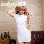 看護婦 ナース 制服 コスチューム コスプレ ハロウィン 仮装 衣装 3点セット Mサイズ bwn1055-2