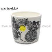 【マリメッコ】 68439 マグカップ コップ シイルトラプータルハ 200ml ホワイト/ブラック/イエロー