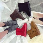 ★2017冬新作★レディース 靴 ブーツ ムートンブーツ ショートブーツ  ミディアムブーツ