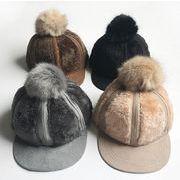 激安★秋冬新しいスタイル★保温帽子★キッズ /ベビーファッション★キッズ男女帽子