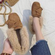 ★2017冬新作★ レディース ファッション 靴 ファー もこもこ ムートンブーツ