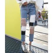 韓国風★新しいスタイル★レディースズボン★デニム人気パンツ