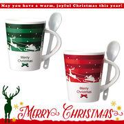 ★2017クリスマス★クリスマススプーン付マグカップ