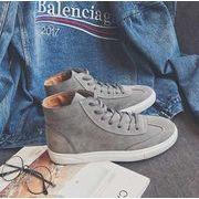 秋冬メンズブーツ シンプル ファッション 靴♪グレー/ブラック2色