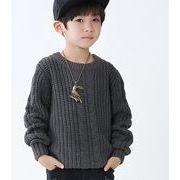★子供用トップス★ニットトップス★セーター★ニットシャツ 3色あり