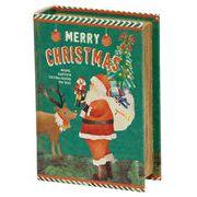 丸和貿易 小物入 ブックボックス クリスマス C