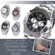 Bel Air Collection回転式ベゼル使用 ベーシッククロノデザイン メンズ 腕時計IK4