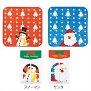 ハッピークリスマス・ハンドタオル1P /クリスマス ハンドタオル イベント ギフト