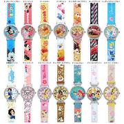 腕時計 ディズニー キッズ リストウォッチ 革ベルト 1500