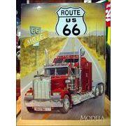 アメリカンブリキ看板 Route66/ルート66 トレーラー