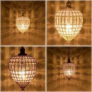 【LED電球対応】1灯シャンデリア ドロップ♪