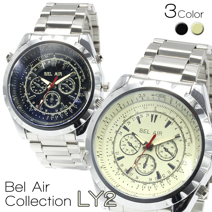 腕時計 メンズ Bel Air Collection ベルエア DNS17