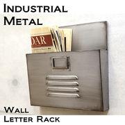 【Industrial Metal】男前インテリア★インダストリアル ウォール レターラック1★