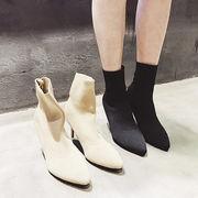 初回送料無料 2017 シンプル 細ヒール 靴 ショート ブーツ 大人気 全2色 Mjqqn-1711aa33 新作