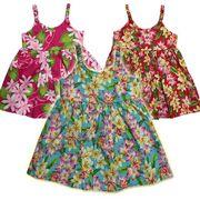 子供服ハワイアン キッズワンピース 3歳~4歳/女の子用ワンピース