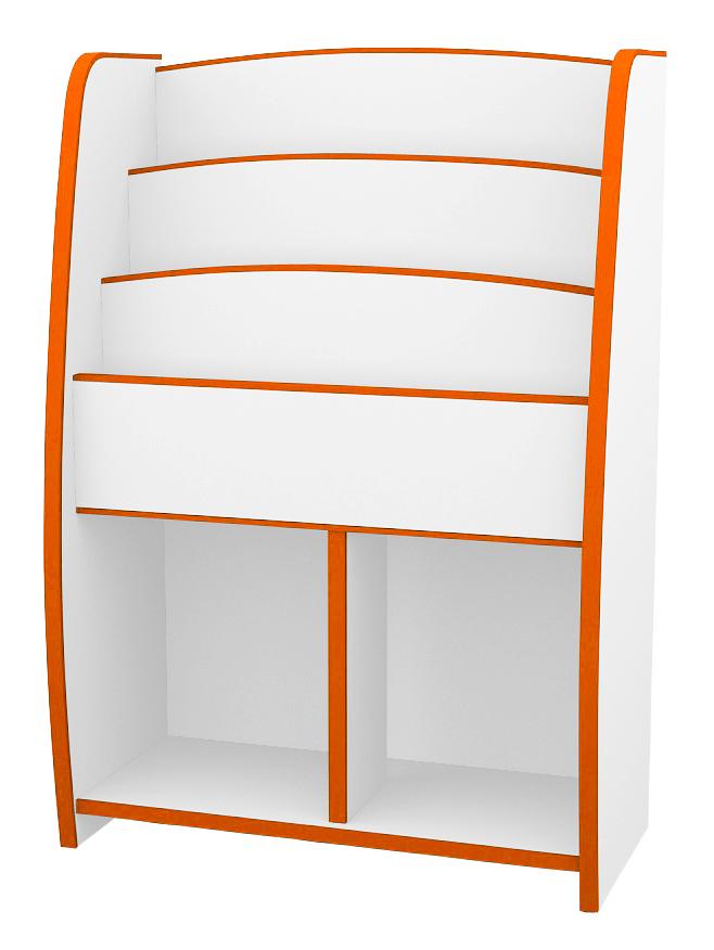 マガジンラック幅63cm カラー6色(オレンジ・グリーン・ブルー・オレンジ・レッド・ホワイト・ブラウン)