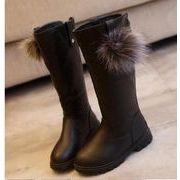 ファー靴★秋冬人気商品★【新品】★大人気★キッズ ファッション単靴★キッズ靴★キッズシューズ(21-38)