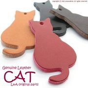"▼SALE▼L&A Original Parts★本革製品★Genuine Leather★上品なリアルパーツ♪""Sweet CAT"""