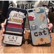 猫柄スマホケース iPhone6カバー iPhone7ケース
