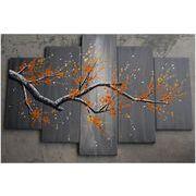 『アートパネル』【モダン】【インテリア】 【手書き】【壁掛け】【絵画】【油絵】【花画】【自然画】
