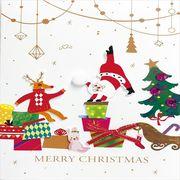 《コレクション》Handmade Card series ハンドメイド グリーティングカード/クリスマスパーティー