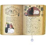 ヂャンティ商会 オルゴール ブック型プーリーオルゴール ネコ(ハリーポッターのテーマ)