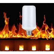 LED Flame、True Fire効果ライト電球、標準ベースE26、装飾照明のクリスマスハロウィンHolidayパーティー