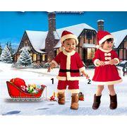 ハロウィンコスプレ 衣装サンタクロース 子供 Halloween クリスマスcosplay 全2色