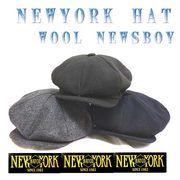 【ニューヨークハット】 #9035 WOOL NEWSBOY 14117
